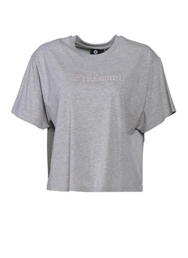 Hummel Kadın Tişört Teramo 911365-2010 Gri